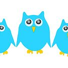 Blue Owls Design by biglnet