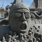 Sand Sculpture by Moonen