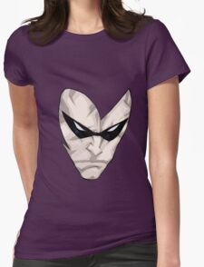 Phantom face Womens Fitted T-Shirt