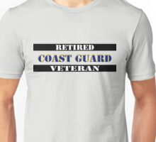 Retired Coast Guard Veteran Unisex T-Shirt