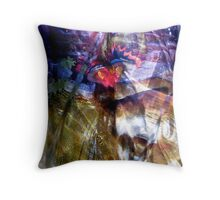 Abstract 524 Throw Pillow