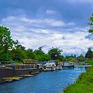 Blanchardstown Royal Canal -Ireland by Ferdinand Lucino