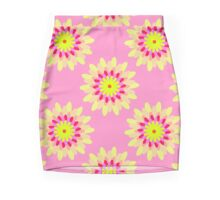FlowerPattern Mini Skirt
