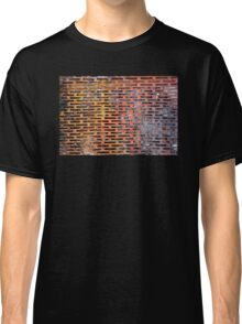 Old rusted metal background in New York, USA Classic T-Shirt