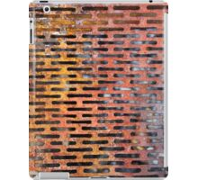 Old rusted metal background in New York, USA iPad Case/Skin