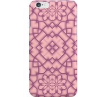 Pink and Magenta Tracery iPhone Case/Skin