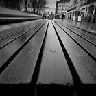 Bench - New road, Brighton by Kevin  Poulton