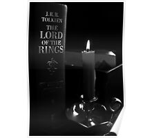 Book By Candlelight Poster