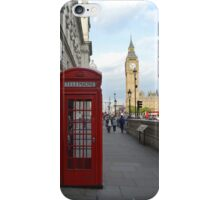 Big Ben and Red Telephone Booth iPhone Case/Skin