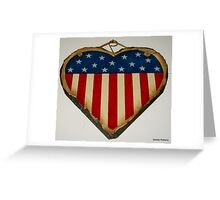 Love Independence Day Greeting Card