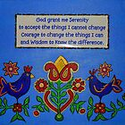 Serenity Prayer by Ilze Coombe