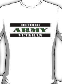 Retired Army Veteran T-Shirt