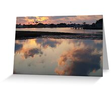 Double sky Greeting Card