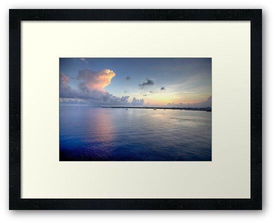 Grand Cayman HDR Sunrise by Jonathan Bartlett