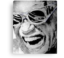 """RAY CHARLES""...unfinished Canvas Print"