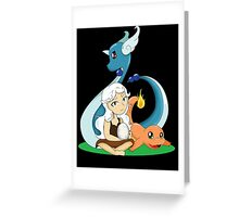 Mother of Dragon Pokemon Greeting Card