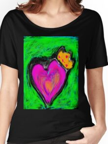 Love is King  Women's Relaxed Fit T-Shirt