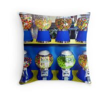 """""""What Ever Happen To The Days Of A Nickle Gum Ball Machine?"""" Throw Pillow"""