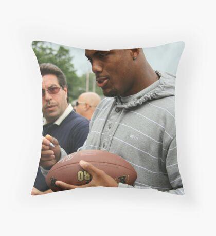 Courtney Greene Throw Pillow