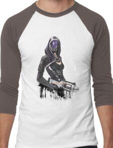 She has a shotgun Men's Baseball ¾ T-Shirt