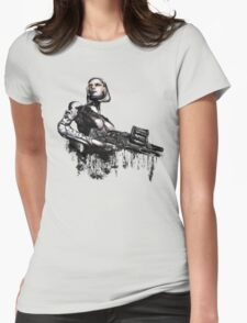 Unshackled A.I. Womens Fitted T-Shirt