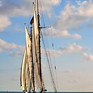 Sailing Key West by Colleen Rohrbaugh