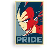 Pride! Vegeta Canvas Print