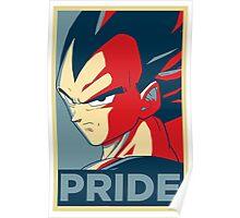 Pride! Vegeta Poster