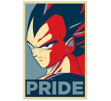 Pride! Vegeta Photographic Print