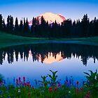 Rainier Sunrise by RavenFalls