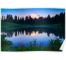 Rainier Sunrise Poster