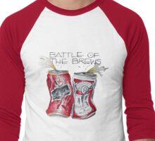Battle of the Brews Men's Baseball ¾ T-Shirt