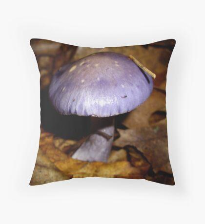 Purple Cort Throw Pillow