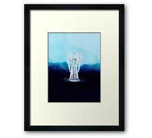 DOCTOR WHO - WEEPING ANGEL Framed Print