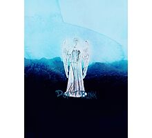 DOCTOR WHO - WEEPING ANGEL Photographic Print