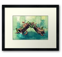Forest Creature Framed Print