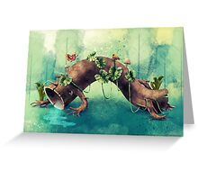 Forest Creature Greeting Card