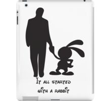 It all started with a rabbit. iPad Case/Skin