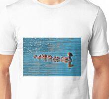 Merganser Family Unisex T-Shirt