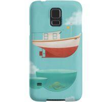 Floating Boat Samsung Galaxy Case/Skin