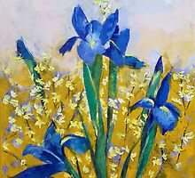 Flower Art by Michael Creese