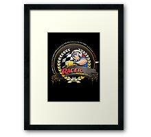 Racer Motors Framed Print