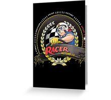 Racer Motors Greeting Card
