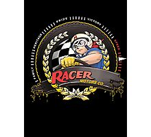 Racer Motors Photographic Print