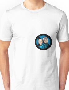 Magneto and Professor X: Old Friends Unisex T-Shirt