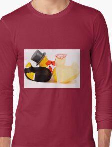 Wedding ducks in love! Long Sleeve T-Shirt