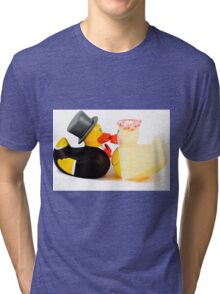 Wedding ducks in love! Tri-blend T-Shirt