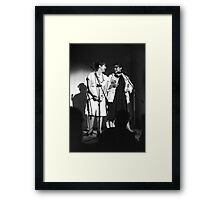 Mandy and Melanie Salomon perform at Sedition at The Sydney Trade Union Club 1983 Framed Print