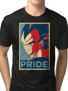 Pride! Vegeta Tri-blend T-Shirt