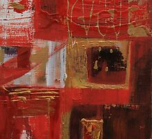 Vermillion and Gold  by Christine Clarke